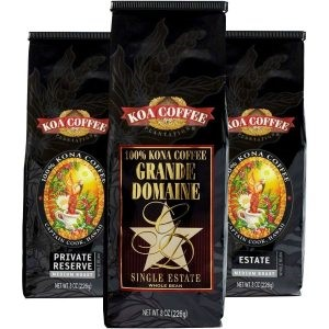 Triple Pack of Kona Coffee