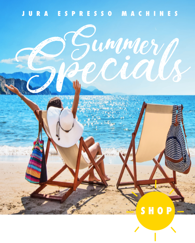 Espresso Machines Summer Specials