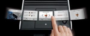 Jura A9 Touchscreen Control